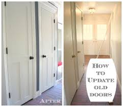 Interior Door paint interior doors photographs : Creating new doors - The Lucky Homestead