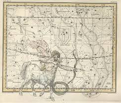 Celestial Astronomy Map Constellations Astronomy Star Chart Home Decor New Ebay