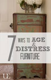 distressed furniture ideas. 7 ways to age and distress furniture distressed ideas l