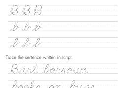 Cursive handwriting practice teaching cursive cursive writing worksheets cursive alphabet hand lettering practice capital alphabet calligraphy worksheet 4th grade writing. Free Handwriting Worksheets Printables Education Com