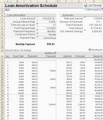 Mortgage Calculator With Amortization Chart Elegant Use Excel To