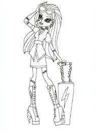 Download Coloring Pages: Monster High Coloring Page Monster High ...