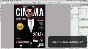 Creating A Movie Magazine Cover In Indesign Youtube