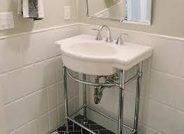 bathroom half tiled half painted tile design ideas
