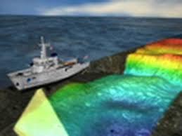 scientists see ocean floor via sonar