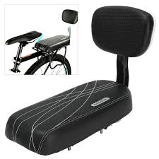 <b>Universal Bike Bicycle Cycling</b> Rear Seat Saddle <b>Cushion Pad</b> with ...