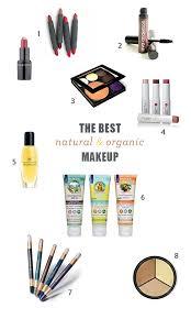 the best natural makeup brands the best organic makeup brands