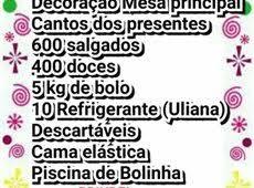 Check spelling or type a new query. Kit Brindes Festa Infantil 60 Anuncios Na Olx Brasil