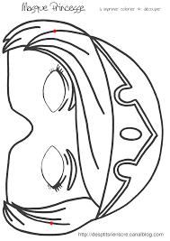 Masque Princesse Imprimer F Te Pinterest Masking