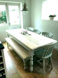 bench style kitchen table picnic dining room the tables mission picnic dining table
