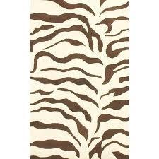 brown zebra rug get ations a earth zebra print brown rug brown and white zebra rug