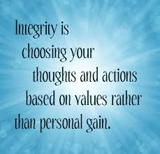 Integrity Quotes Amazing Favorite Inspiring Quotes Be A Person Of Integrity
