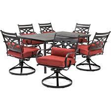 hanover montclair 7 piece dining set