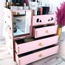 diy storage box with lid cardboard ideas wooden makeup organizer jewelry furniture good looking