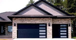 E Black_garage_doors_with_vertical_windows