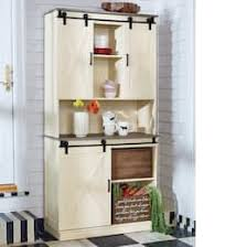 country farmhouse furniture. Delighful Farmhouse BarnDoor Buffet And Hutch On Country Farmhouse Furniture