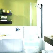 walk in bathtub shower small walk in bathtub shower enclosure
