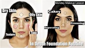 in depth full foundation routine for beginners everything you need to know in one video you cleanserforoilyskin