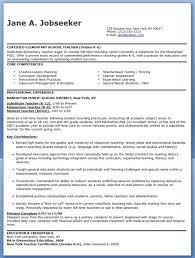 Teacher Resume Template Word Interesting Elementary School Teacher Resume Samples Free Creative Resume