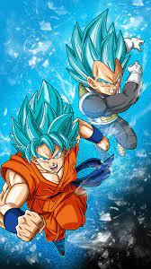 High Resolution Goku And Vegeta ...