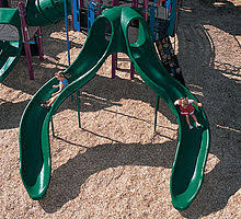 Swirly Slides Playground Slide Wikipedia