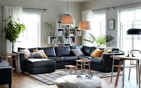 living room dark grey sofa decor gray furniture couches ideas black medium size colour scheme light b