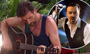 Nick Knowles Song In Charts Im A Celebrity Viewers Beg Nick Knowles To Stop Singing