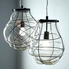 organic lighting fixtures. Organic Lighting Fixtures Blown Glass Light Pendant West Elm .