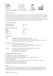 Sample Resume For College Graduate With No Experience