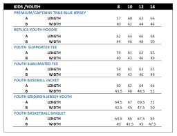 Kids Jersey Size Chart Details About Nsw Blues State Of Origin Kids On Field Premium Jersey Sizes 6 14 Bnwt