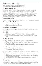 English Teacher Resume Sample – Resume Tutorial