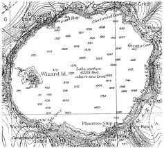 Mapping Crater Lake July 1886