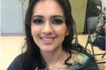 indian wedding diamond bar center south asian bride pavilli makeup artist hair design team angela tam