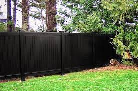 black vinyl privacy fence. Modern Black Vinyl Fencing On Fence Panels A Itook Co Intended For Plan 9 Privacy P