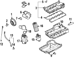 parts com® volkswagen jetta engine oem parts 2006 volkswagen jetta 2 5 l5 2 5 liter gas engine