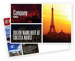 Postcard Collage Template Paris In Collage Postcard Template In Microsoft Word Adobe