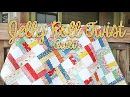 Shortcut Quilt: Jelly Roll Twist | Fat Quarter Shop's Jolly Jabber ... & Shortcut Quilt: Jelly Roll Twist | Fat Quarter Shop's Jolly Jabber |  Bloglovin' | quilts | Pinterest | Fat quarters, Fat quarter shop and Fat Adamdwight.com