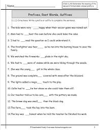 55 best Year 7 Literacy- Prefixes, Suffixes, Base & Origin words ...