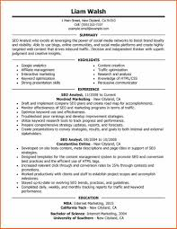seo resume example my perfect resume perfect resume example
