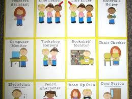 Free Preschool Classroom Job Chart Pictures 72 Correct Preschool Charts Classroom