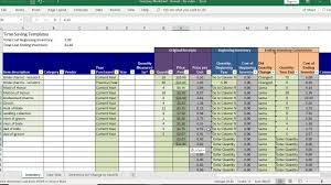 Excel templates are a great way to increase your productivity. Inventory Count Sheet Maxresdefault Year End Excel For Products Template Free Spreadsheet Cycle Sarahdrydenpeterson