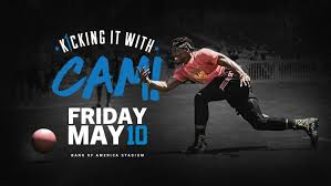 bank of america stadium hosting cam newton s 2019 kickball tournament