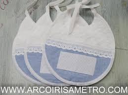 Toalhas de banho pintadas e com aplicações. Babete Branco E Azul P Bordar Ponto Cruz Arco Iris A Metro