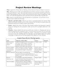 Project Team Meeting Agenda Template 5 Best Agenda Templates