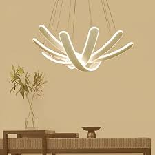 aorakilights personality chandelier dining room living room modern simple iron art led bedroom study light