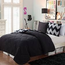 Best 25+ Black comforter sets ideas on Pinterest | Black bedroom ... & Victoria Classics Juniper Reversible Comforter Set (Black) ($78) ❤ liked on  Polyvore Adamdwight.com