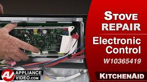 kitchenaid whirlpool oven electronic control repair