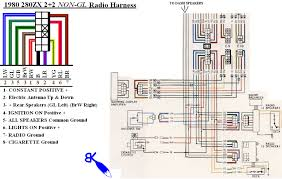 280zx aftermarket radio install wiring diagram! zdriver com aftermarket radio wiring colors at Aftermarket Radio Wire Colors
