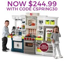 Play Kitchen Elegant Edge Kitchen Kids Play Kitchen Step2