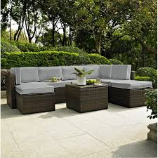 Mercury Row Belton 8 Piece Rattan Seating Group with Cushions